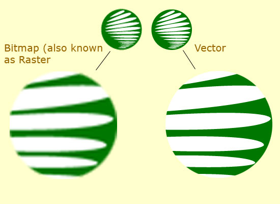 Vector Vs Bitmap What S The Difference