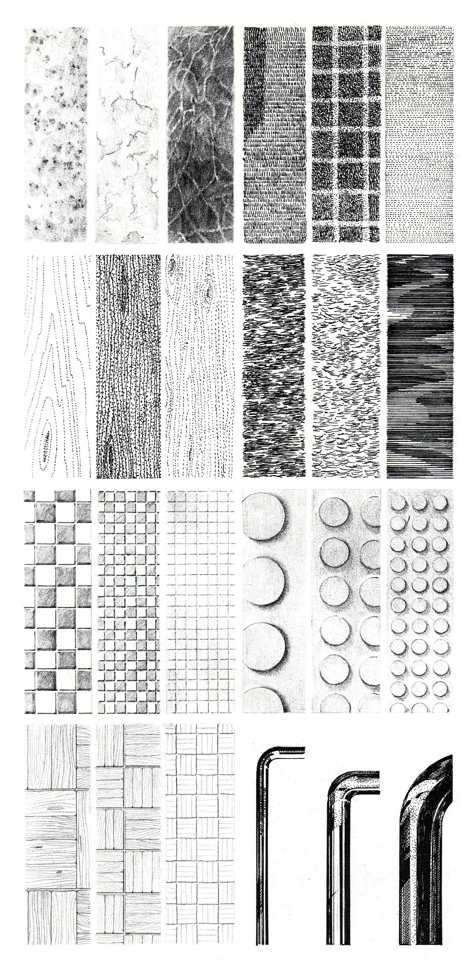 Learning to Illustrate Textures: Techniques for Architects ...