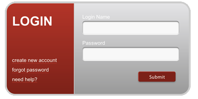Html5 Css3 Log In Form Psd Not Included Or Necessary